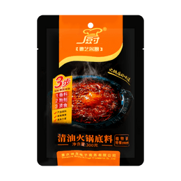 DEZHUANG Deyimingchu Hot Pot Sauce (Extra spicy) 300g