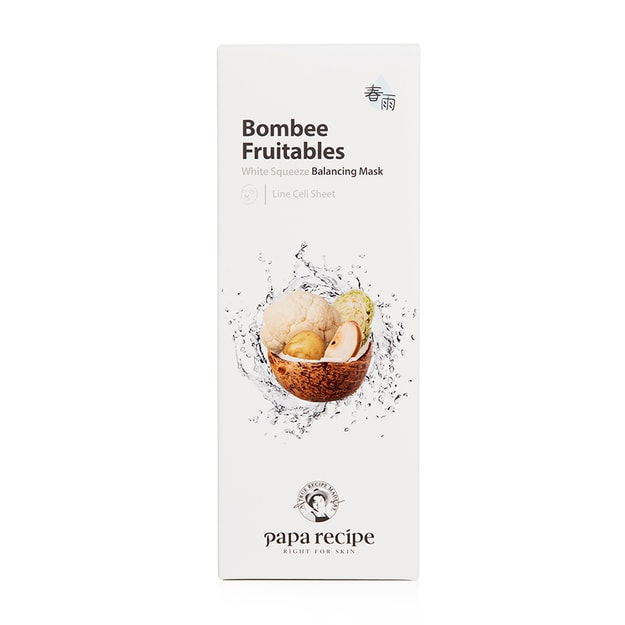 Product Detail - PAPA RECIPE Bombee Fruitables White Squeeze Balancing Mask 10 sheet - image 0