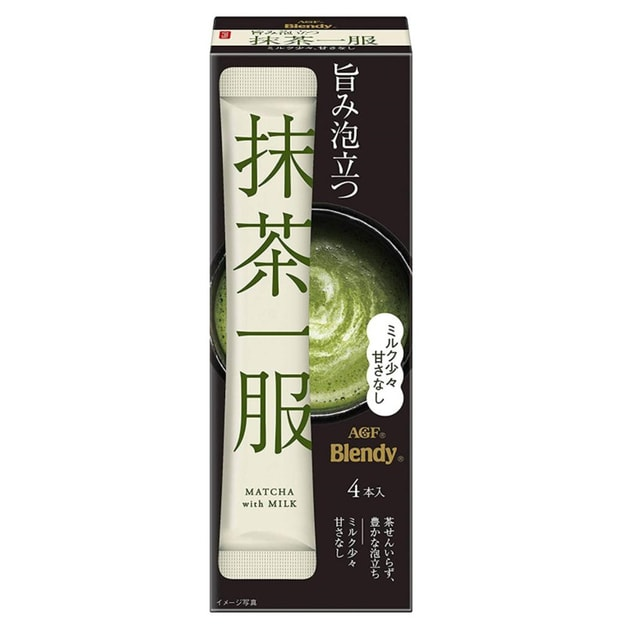 Product Detail - JAPAN AGF Matcha Milk 4pc - image 0