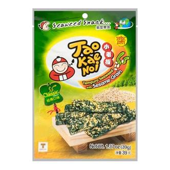 泰国小老板 烤芝麻海苔脆片 原味 39g