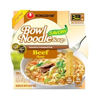 韩国NONGSHIM农心 3分钟微波碗面 牛肉味