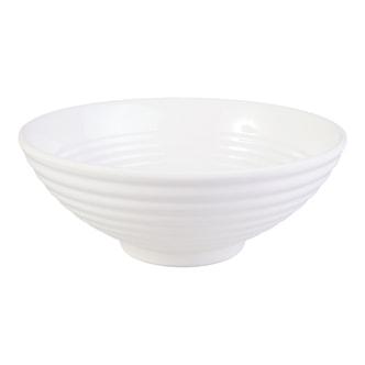 家用外纹密胺大汤饭碗 8'' #白色 可微波