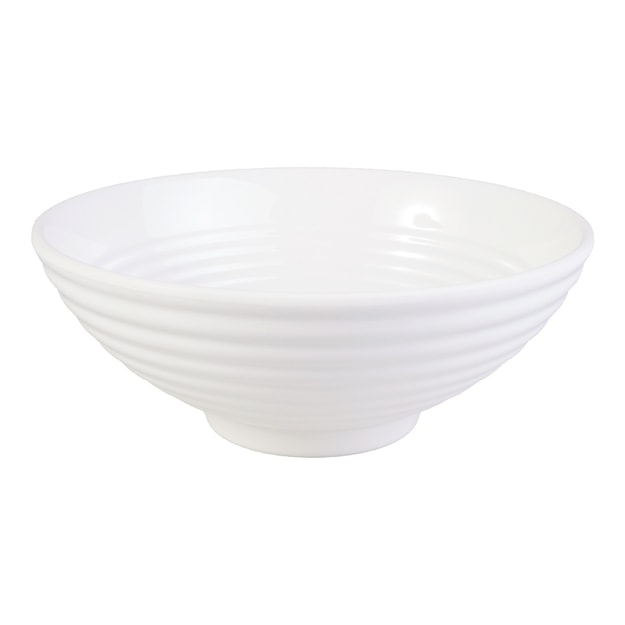 "Product Detail - Melamine Large Rice & Noodle Soup Bowl 8"" White Microwave Safe - image 0"