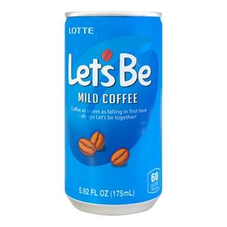 韩国LOTTE乐天 乐啡咖啡饮料 175ml