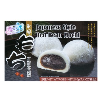 台湾雪之恋 和风大福 红豆味 210g