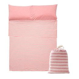 JIWU Cotton Sleeping Bag Double Pink