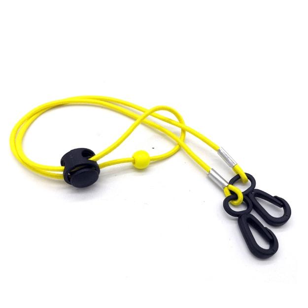 商品详情 - 【中国直邮MERRYLIFE口罩挂绳防丢神器儿童成人可调节(黄色) - image  0