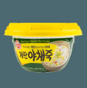 韩国OTTOGI不倒翁 鸡蛋蔬菜米粥 285g