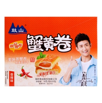 TENGXIN Crab Roll Hot Spicy Flavor 360g