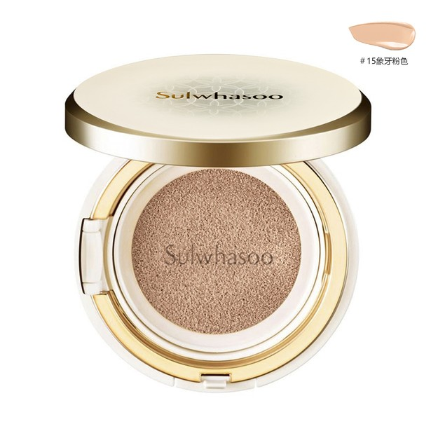 Product Detail - SULWHASOO Perfecting Cushion Ex No.15 Ivory Pink SPF50+ PA+++ 15g*2 - image 0