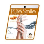 日本PURE SMILE 蜂王浆玻尿酸精华滋润手膜 1对入