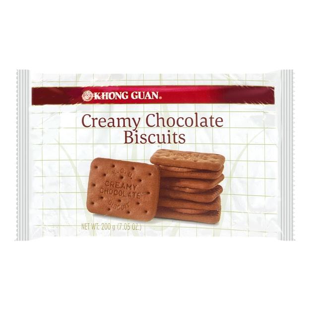 商品详情 - 新加坡KHONG GUAN康元 巧克力夹心饼干 200g - image  0