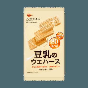 日本BOURBON波路梦 国产豆乳威化饼干 112g