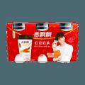 香飘飘 好料系 红豆奶茶 64g*3连杯 包装随机发