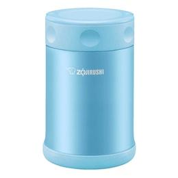 ZOJIRUSHI Stainless Steel Food Jar Blue 500ml SW-EAE50AB