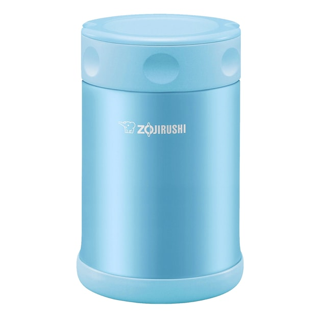 ZOJIRUSHI Stainless Steel Food Jar Blue 500ml SW-EAE50AB