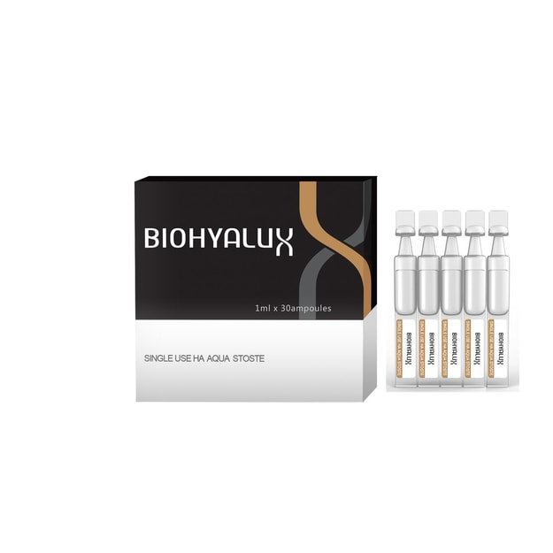 BIOHYALUX HA Aqua Best Selling Value Set(HA Aqua Single Use Stoste 30dose*1 HA Aqua Moisturizing Facial Cream 30g*1)
