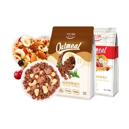 【Value Set】OCAK Oatmeal Fruit Nuts*1 Cocoa Nuts*1