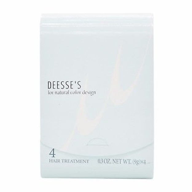 Product Detail - MILBON DEESSE\'S Hair Treatment 4 For Fine Hair 4pcs - image 0