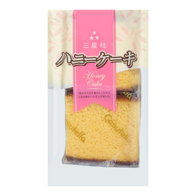 商品详情 - 日本三星社 蜂蜜海绵蛋糕 200g - image  0