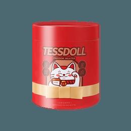 Tessdoll 台湾台仕朵台式网红手工冲泡奶茶 白桃乌龙 576g (限定版随机发))  无反式脂肪酸及香精