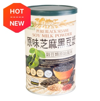 ORGANIC CHATEAU Pure Black Sesame Soy Milk Powder 500g