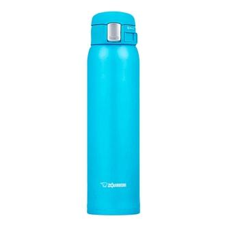 ZOJIRUSHI One Touch Stainless Steel Vacuum Thermal Bottle Ocean Blue 600ml SM-SC60AV