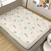 GANGNAM SHOP Ilwoul Dual Heart Electric Warm Water Heating Mat 110V [Double: 79in X 57in]