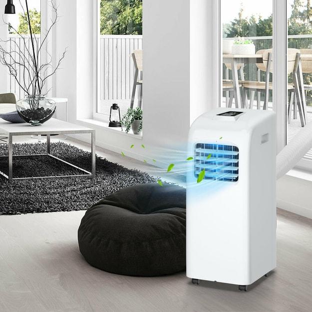 商品详情 - 舒乐氏  12000匹 移动制冷空调带遥控器 - image  0