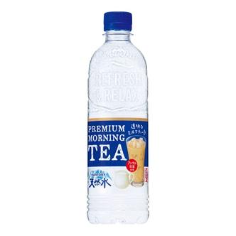 日本SUNTORY三得利 天然水 透明奶茶 550ml