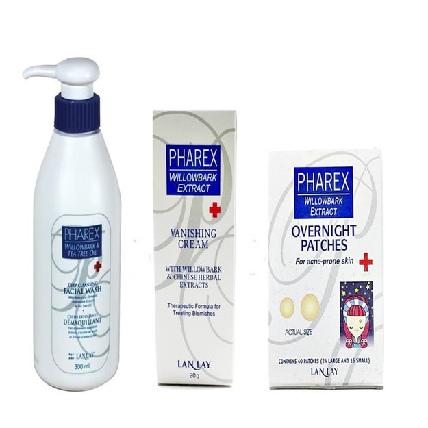 Product Detail - LANLAY PHAREX Acne Treatment Trilogy 3 bundle kits - image 0