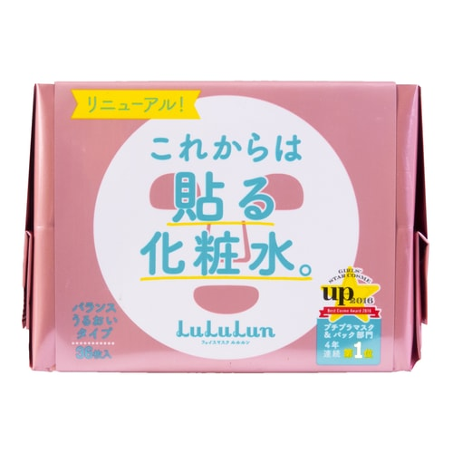 LULULUN Moisture Facial Mask 36sheets