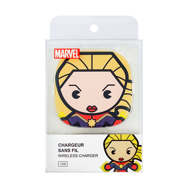 Product Detail - Miniso MARVEL Wireless Charger Captain Marvel - image 0