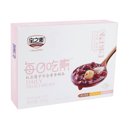 BZS Red Bean Lotus and Lily Dessert 200g