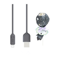 MAOXIN Lollipop Model iPhone Data Cable/Charging Cable Black