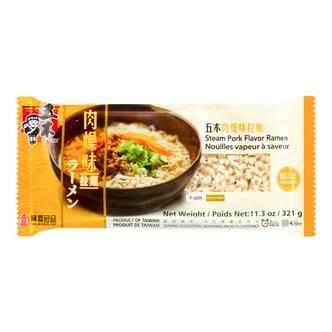 台湾五木 肉燥味拉面 不添加防腐剂 321g