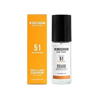 W.DRESSROOM Dress & Living Clear Perfume No.51 (Juicy Grapefruit) 70ml