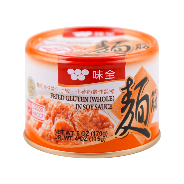Product Detail - WEI CHUAN Fried Gluten in Soy Sauce no MSG 170g - image 0