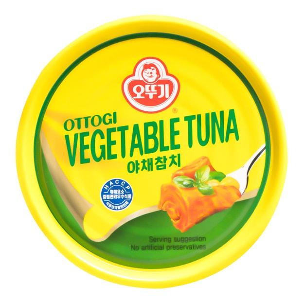 商品详情 - 韩国OTTOGI不倒翁 蔬菜金枪鱼罐头 150g - image  0