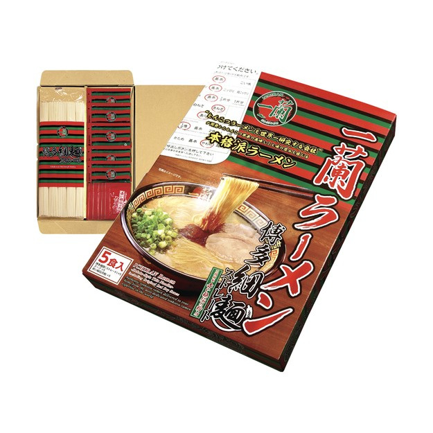商品详情 - 日本ICHIRAN一兰拉面  博多煮面版 福冈限定 5人食 日版 - image  0