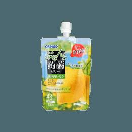 日本ORIHIRO 蒟蒻果冻 柠檬味 130g