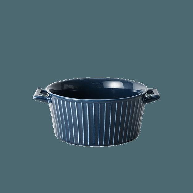 商品详情 - 网易严选 条纹系列餐具套装 小汤碗 - image  0