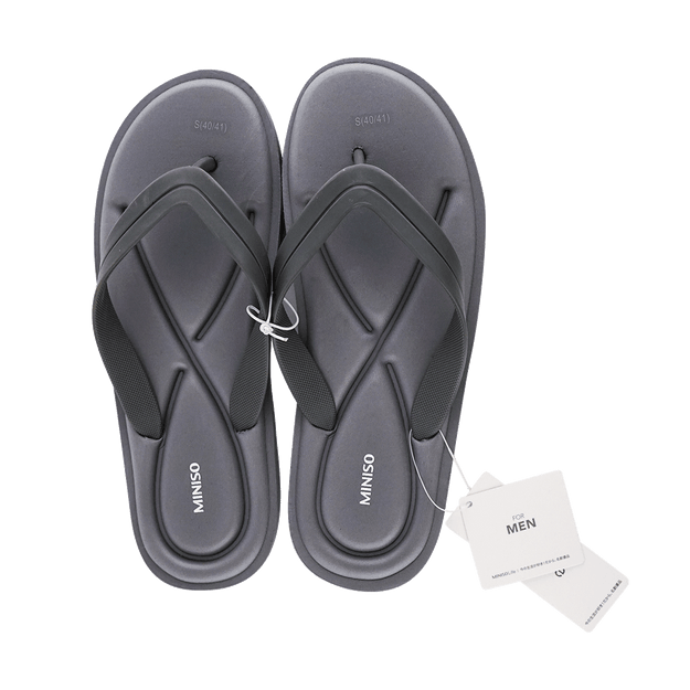 Product Detail - Men\'s Comfortable Slippers Grey S EU 40/41 - image  0