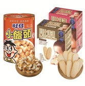 WANT WANT Mini Bun Baby MumMum Apple Original 310g