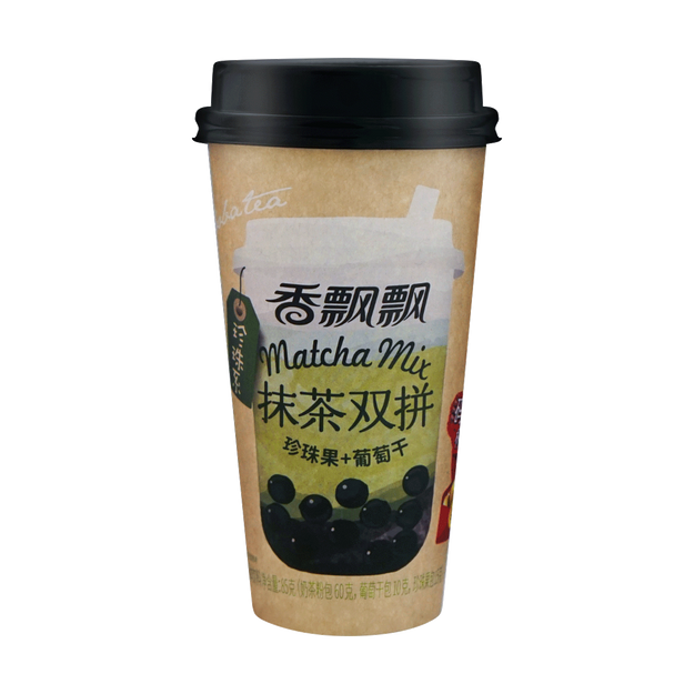 Product Detail - XIANGPIAOPIAO Brown Sugar Milk Tea with Boba and Raisin 85g - image 0