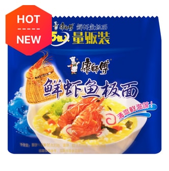 MASTER KONG Seafood Flavored Instant Noodle 5Packs 475g