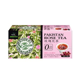 台湾阿华师 原片研磨玫瑰花茶 18包入 零咖啡因
