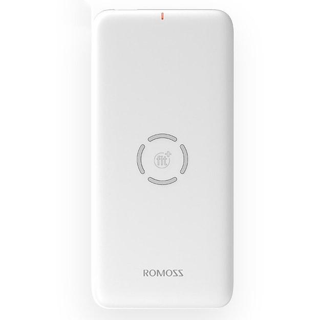商品详情 - 【中国直邮】罗马仕充电宝10000毫安小巧迷你便携可爱薄无线充电 WL1A白色 1件 - image  0