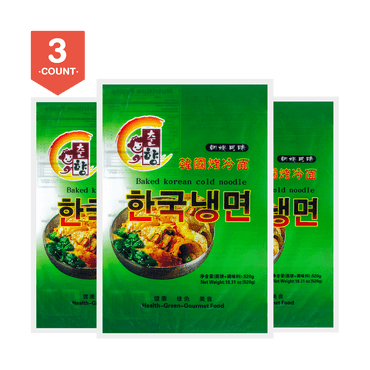 CHUNXIANG Baked Korean Cold Noodle 510g*3pcs