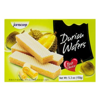 Jans Durian Wafers 150g